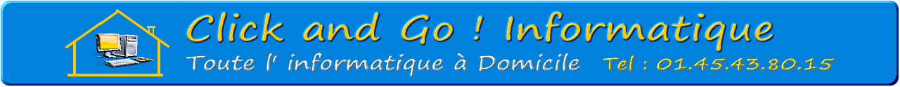 Logo Click and Go ! Informatique Paris